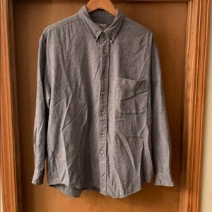 Men's Eddie Bauer Long Sleeve Button Up Large